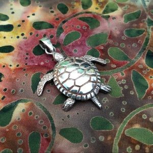 Jewelry - Silver Turtle with Legs that Move Pendant